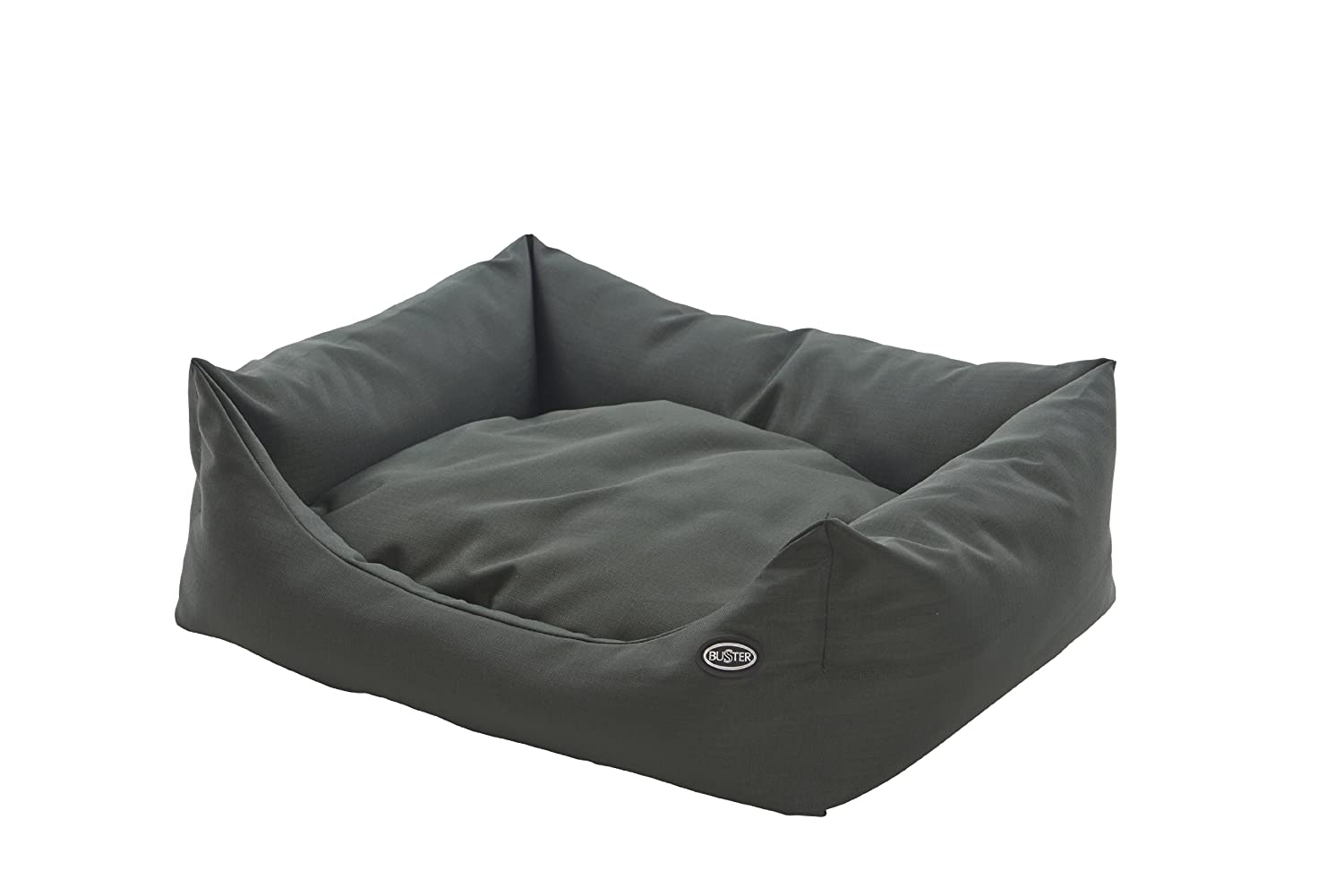 Green 45 x 60cmBuster Sofa Bed for Dogs, 60 x 45 cm, Artichoke Green Steel Grey