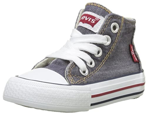 Levis Kids Trucker HI Mini, Zapatillas Altas Unisex niños, Gris (Grey Twill)