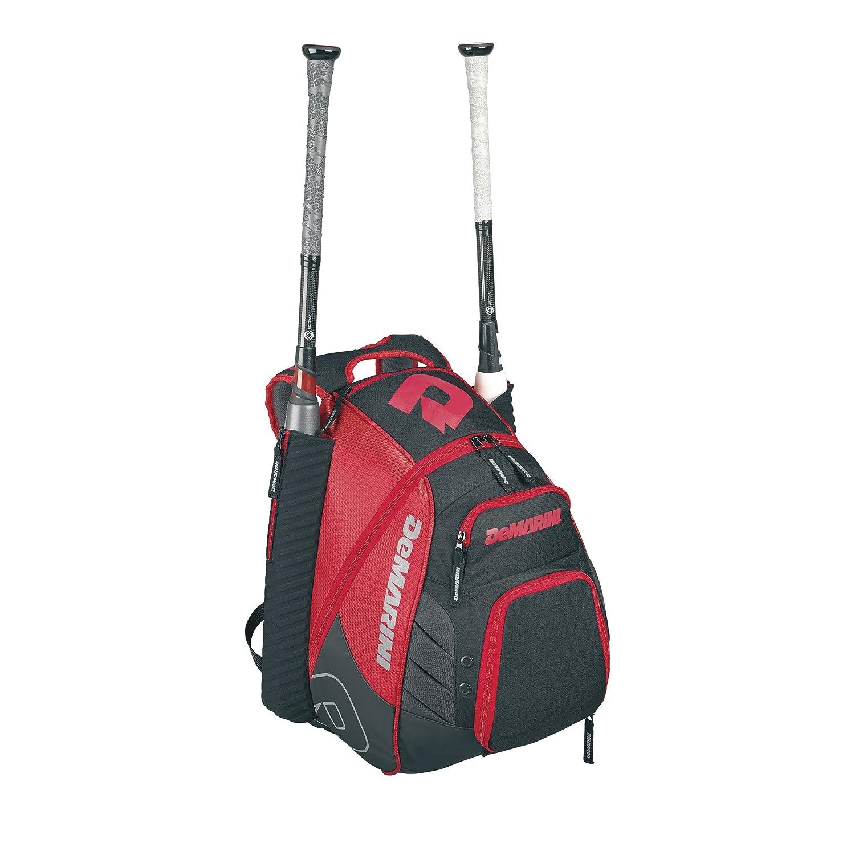 DeMarini Voodoo Rebirth Baseball Backpack-Scarlet