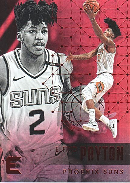 various colors 114c5 a1562 2017-18 Panini Essentials Basketball Red #55 Elfrid Payton ...