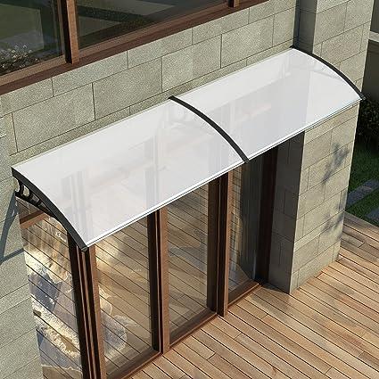Toldo de puerta Keinode toldo refugio frontal parte trasera porche fuera puerta pantalla exterior patio toldos