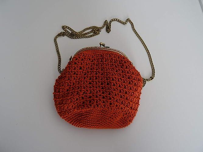 Bolso A Crochet Ganchillo Amazones Handmade