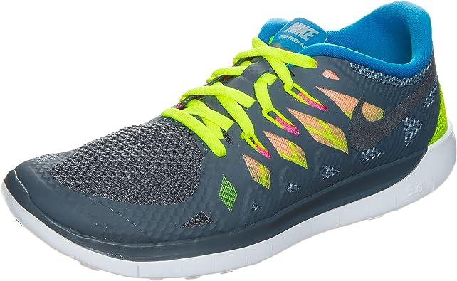 Llevar flotante amargo  Amazon.com | NIKE Free 5.0 Youth Girls Athletic Running Training Shoes Size  6Y | Running