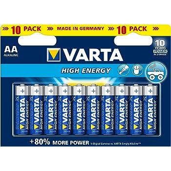 Gute Batterien bekommen Sie von dem Hersteller Varta.