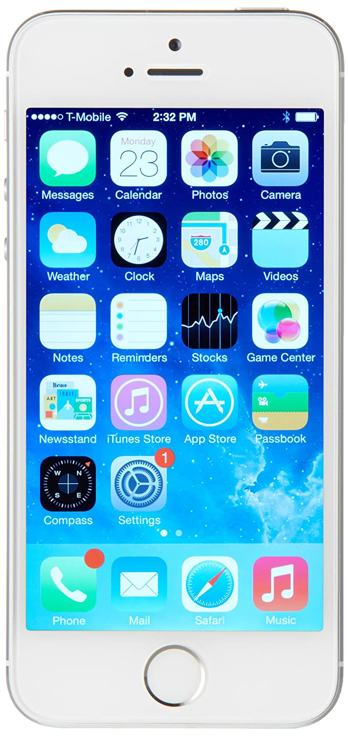 Amazon Apple IPhone 5S 32 GB Unlocked Silver Cell Phones Accessories