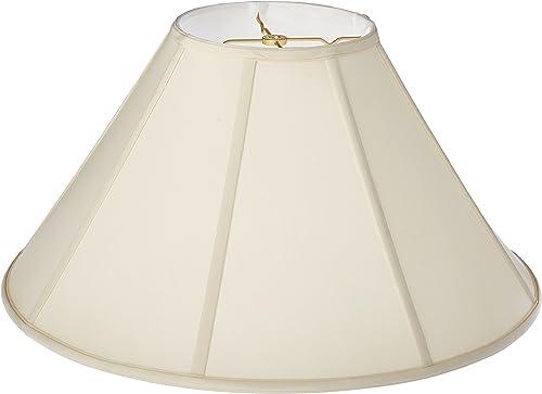 Royal Designs Empire Lamp Shade, Eggshell, 8 x 22 x 13.25