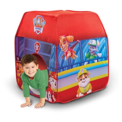 Paw Patrol Kids Pop Up Tent Children's Playtent Playhouse for Indoor Outdoor, Great for Pretend Play in Bedroom Or Park! for Boys Girls Kids Infants & Baby: Toys & Games