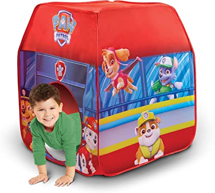 For Indoors /& Outdoors Paw-Patrol Childrens Pop Up Blue Playhouse Play Tent