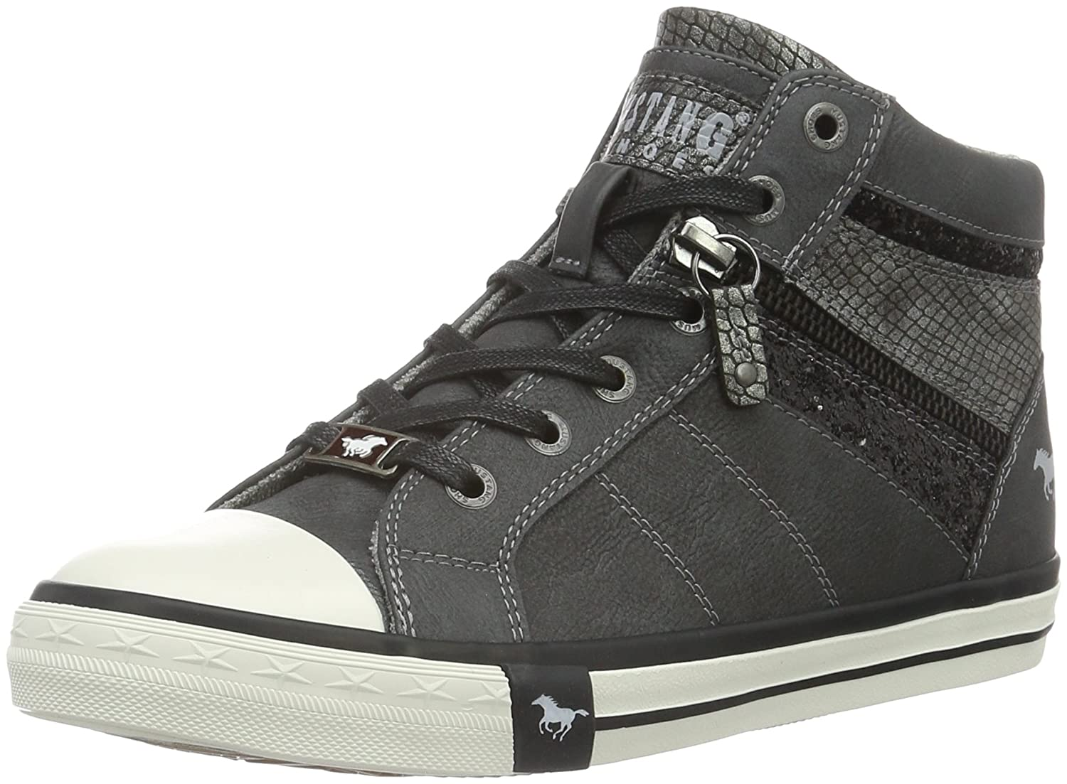 Womens 1146-508-259 Hi-Top Trainers Mustang cpaMgBtP