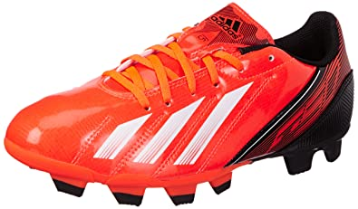 finest selection 5da0e 75a99 adidas Performance F5 TRX FG Football Shoes Mens Red Rot (INFRARED   RUNNING WHITE FTW