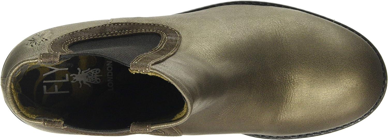 Angebot begrenzen Günstig Neuankömmling Großhandel Fly London Mädchen Zerk482fly Chelsea Boots Grau Grey 004 FGphs OgmtW 1P2fd
