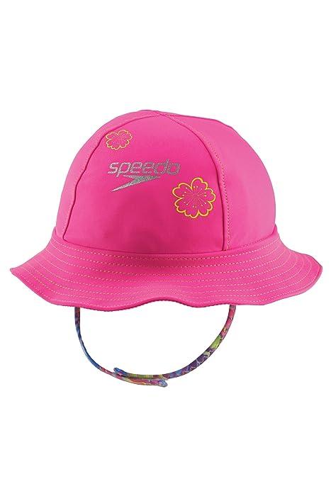 c36180714 Buy Speedo Kids' UPF 50+ Bucket Hat with Chin Strap, Pink, Large/X ...