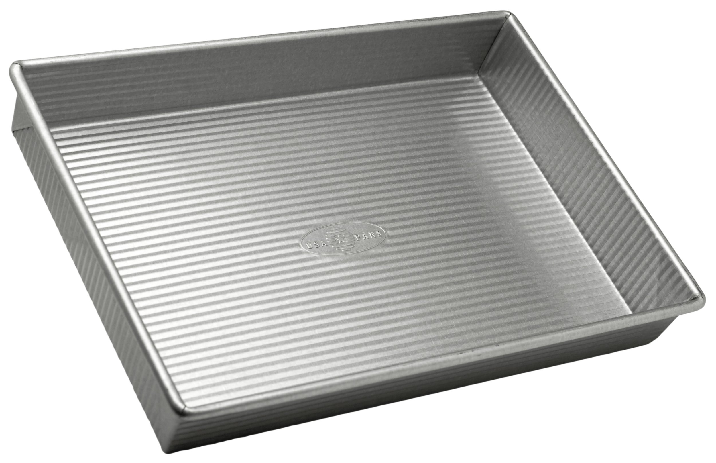 USA Pan Bakeware Rectangular Cake Pan, 9 x 13 inch, Nonstick & Quick Release Coating, Made in the USA from Aluminized Steel by USA Pan (Image #1)