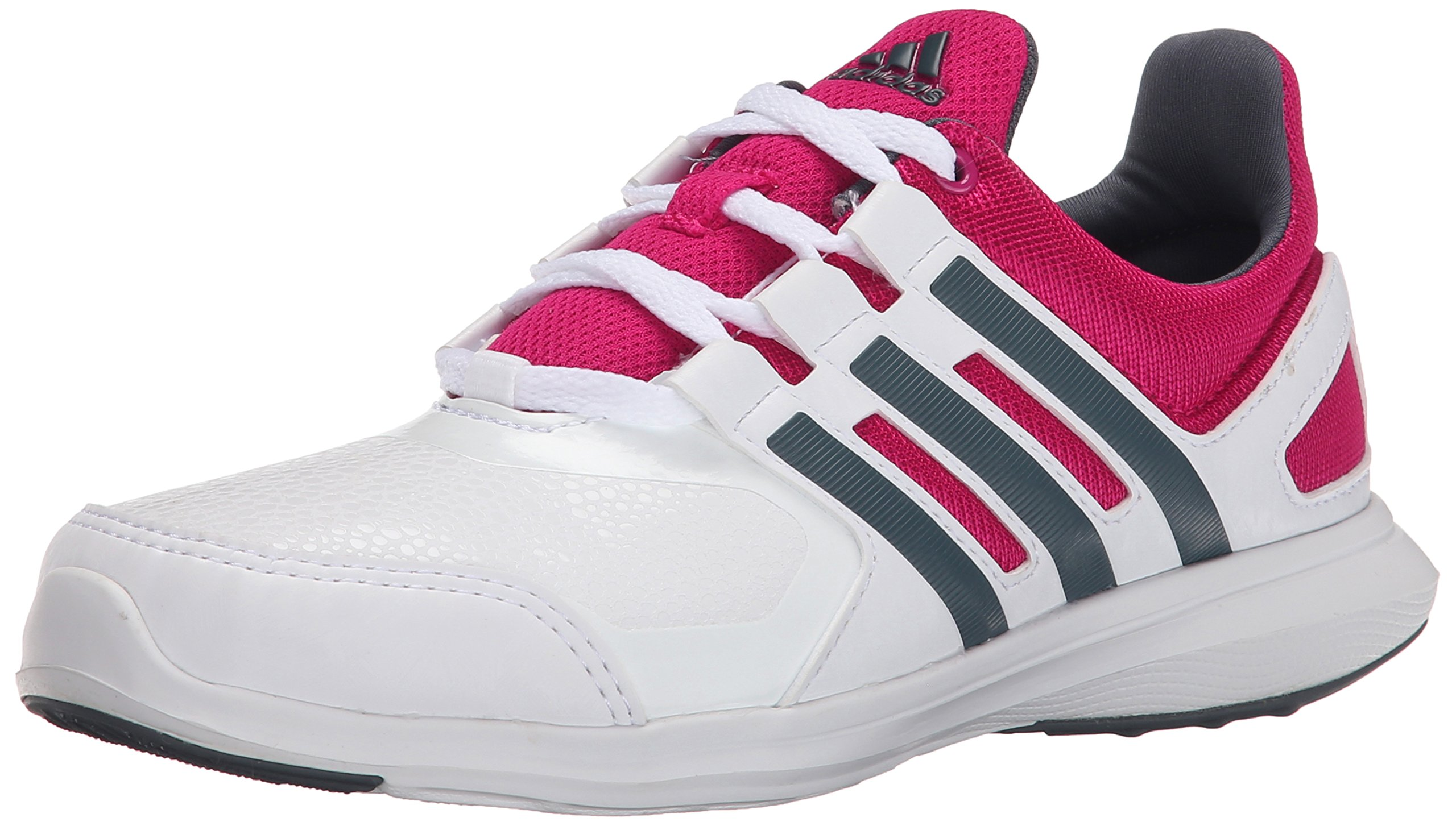 info for 987d4 7bfee Galleon - Adidas Performance Hyperfast 2.0 K Running Shoe (Little Kid Big  Kid),White Grey Pink,10.5 M US Little Kid