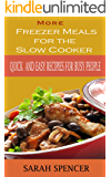 More Freezer Meals for the Slow Cooker: Quick and Easy Recipes for Busy People