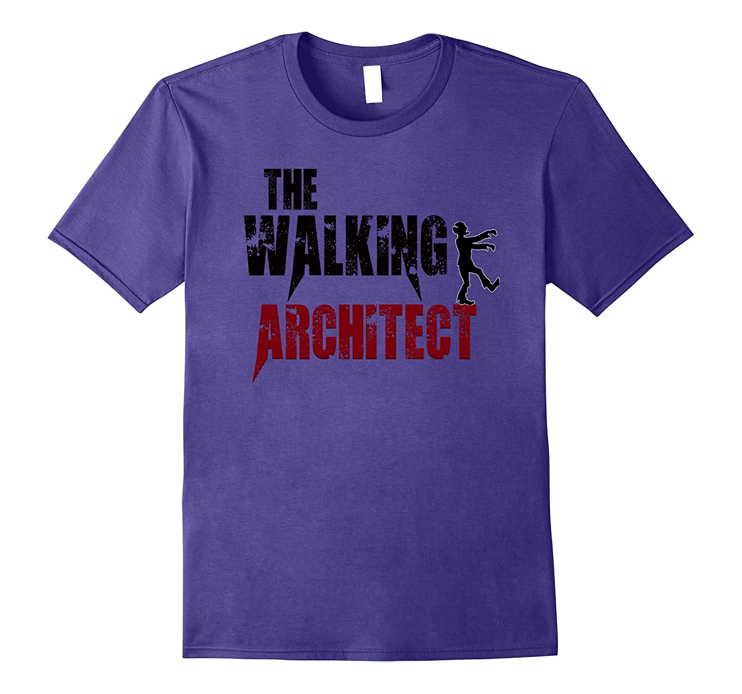 Architect gift t shirts walking Architecture zombies tee day-FL