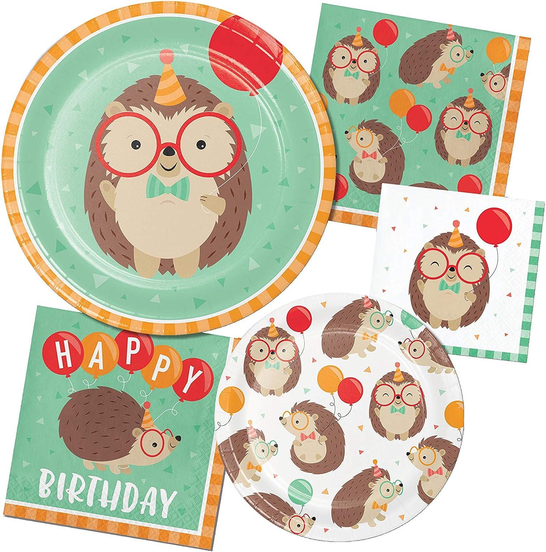 16 ct Hedgehog Party Happy Birthday Napkins