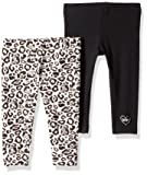 DKNY Baby Girls 2 Pack Leopard and Sparkling