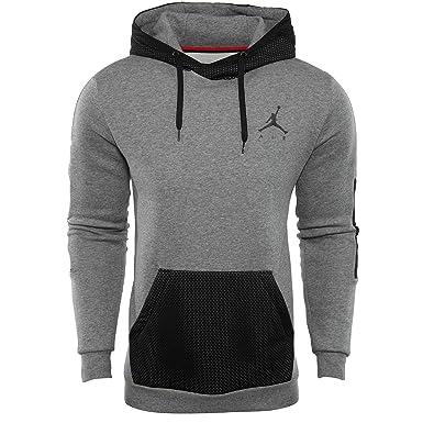 00b9d3221edd Jordan Hybrid Fleece Pullover Mens at Amazon Men s Clothing store