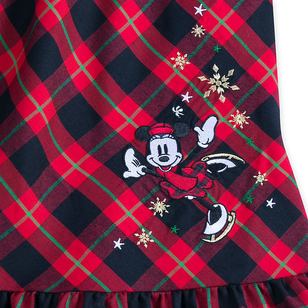 Disney Minnie Mouse Holiday Plaid Nightshirt for Girls