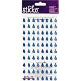 Sparkler Classic Stickers-Raindrops