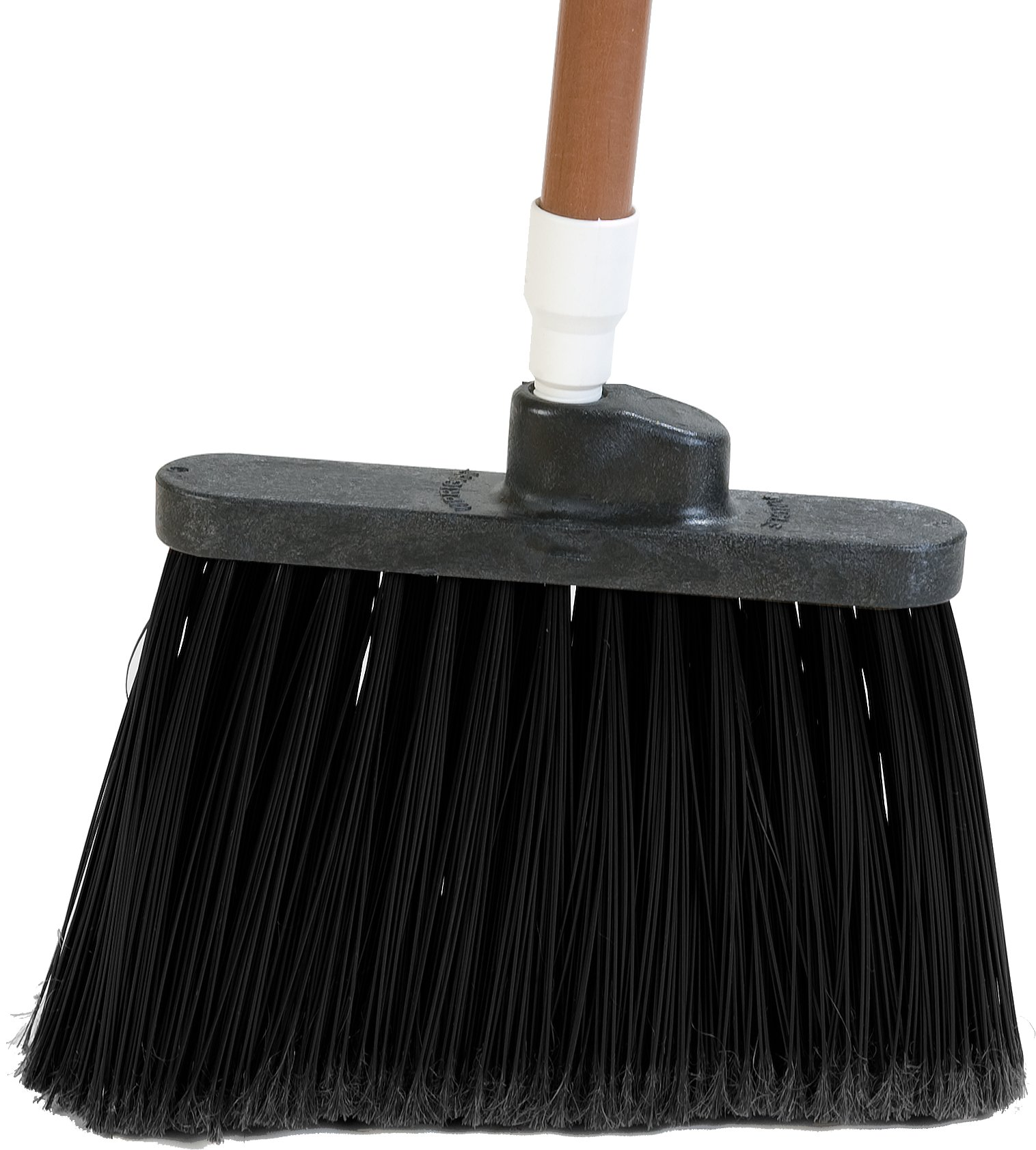 Carlisle 3686703 Duo-Sweep Medium Duty Flagged Angle Broom Head, Polypropylene Bristle, 8'' Overall Length x 12'' Width, Black (Case of 12) by Carlisle (Image #6)