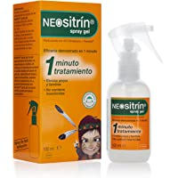 Neositrín - Spray Gel, Tratamiento para Eliminar Piojos y Liendres - 100ml