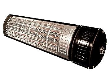 Estufa de infrarrojos para soporte de pared (1500 W) interior/exterior Comercial/