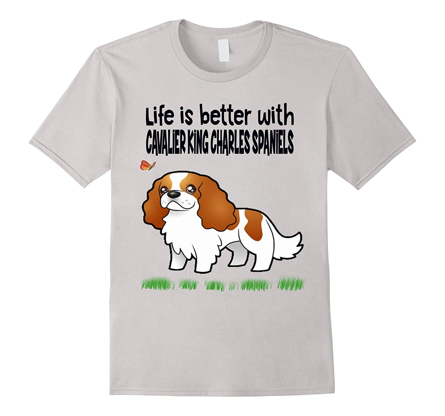 Cavalier King Charles Spaniels gift tShirt for Women and all-CL