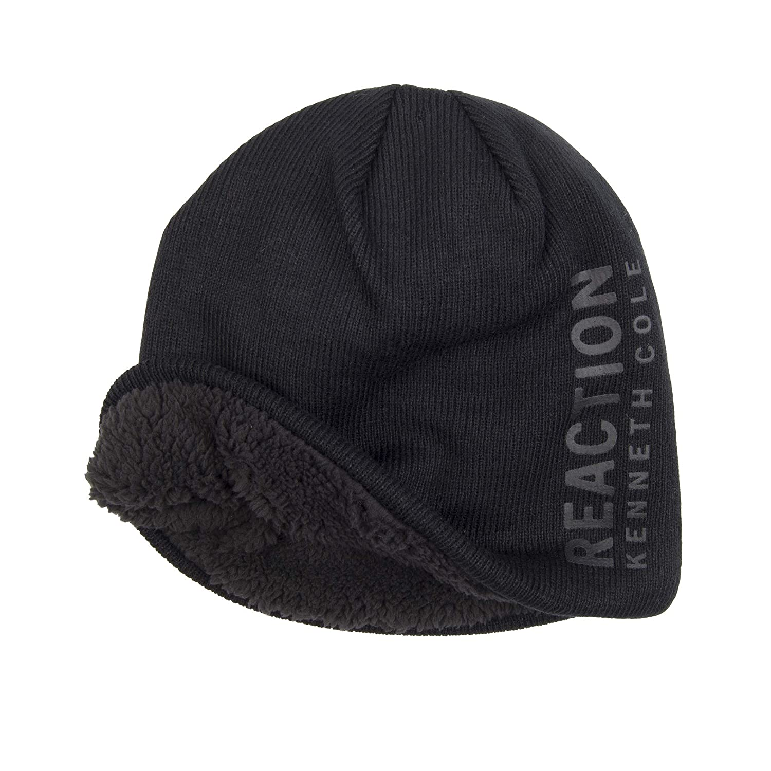 a43b3e50e1c Kenneth cole reaction men warm winter beanie hat black one size at amazon  men clothing store