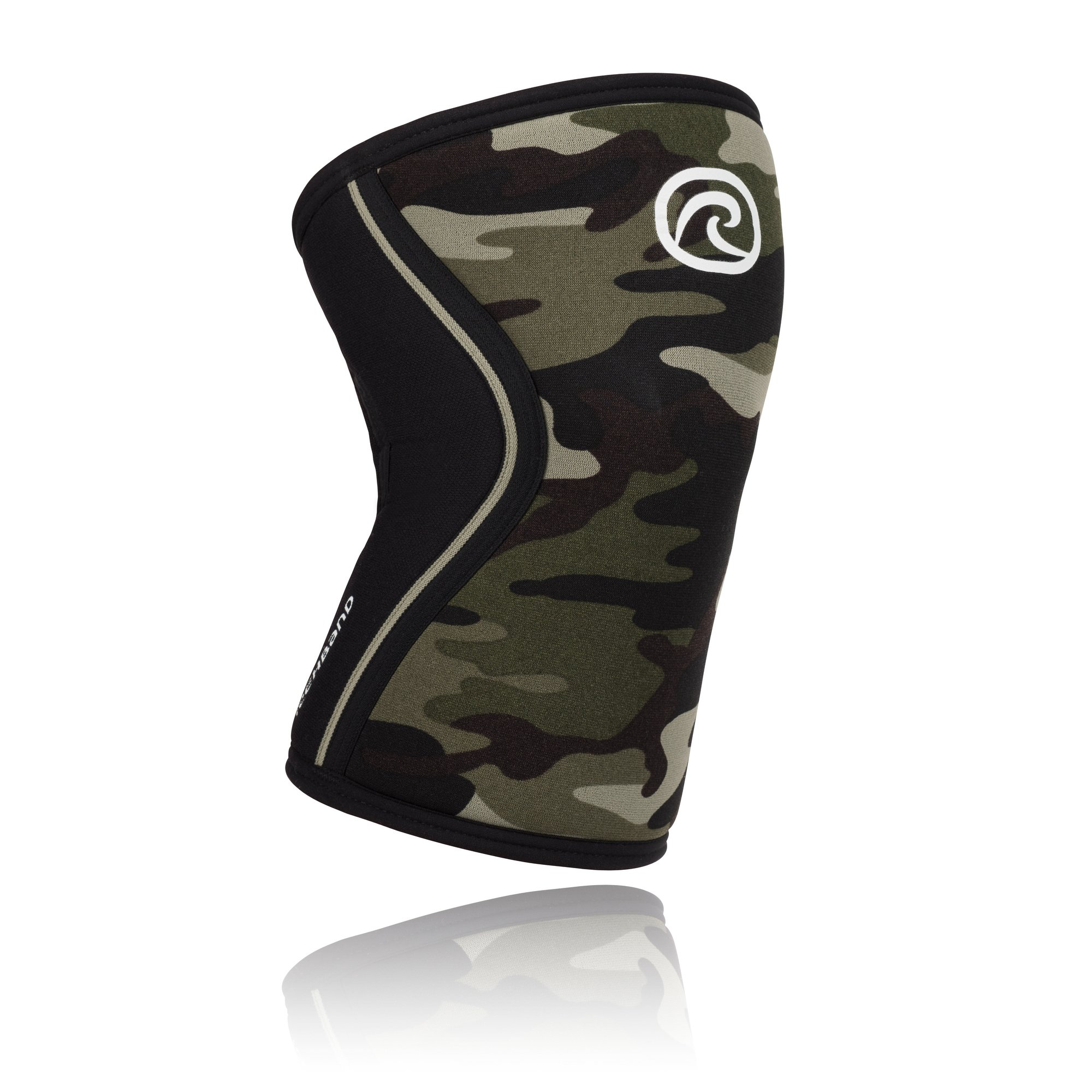 Rehband Rx Knee Support 7mm - X-Small - Camo - Expand Your Movement + Cross Training Potential - Knee Sleeve for Fitness - Feel Stronger + More Secure - Relieve Strain - 1 Sleeve