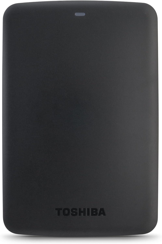 Toshiba Canvio Basics 3TB Portable Hard Drive (HDTB330XK3CA), Black