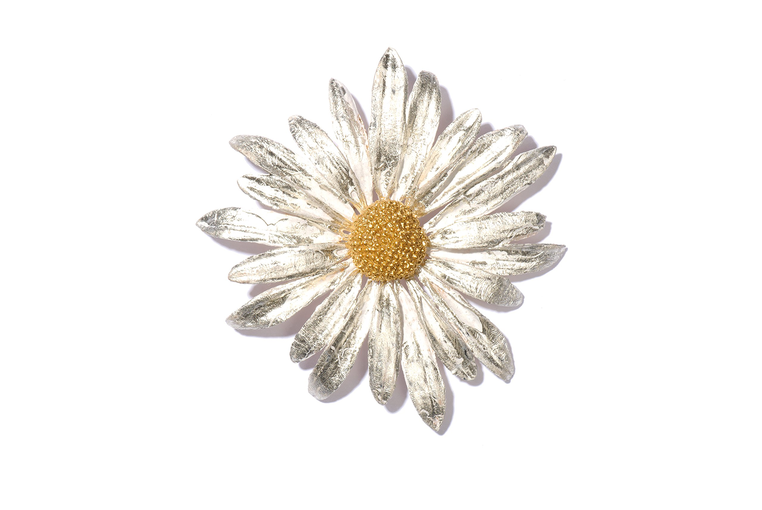 ''Daisy'' Pin/Brooch by Michael Michaud for Silver Seasons