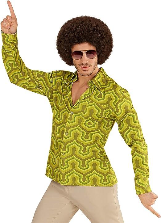 WIDMANN 09087 Camisa de los años setenta Wall Paper, Small , color/modelo surtido: Amazon.es: Juguetes y juegos