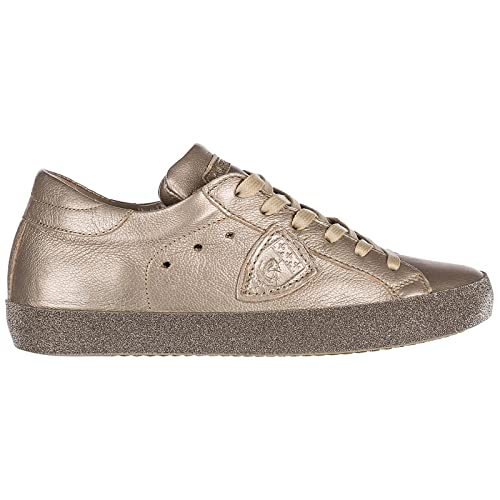 3fb688d6db Philippe Model Sneakers Paris Donna Metal Champagne 38 EU: Amazon.it ...