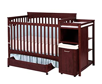 Amazon Com Shermag Hampton Crib With Changing Station