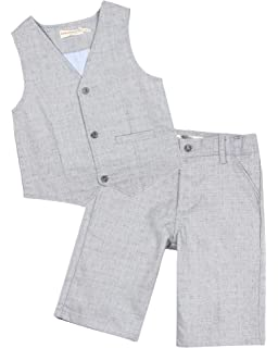 Deux par Deux Boys Gray Shirt Cool Class Sizes 2-10