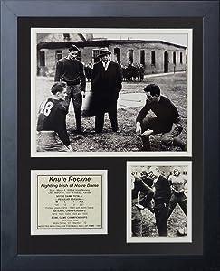 "Knute Rockne 11"" x 14"" Framed Photo Collage by Legends Never Die, Inc."