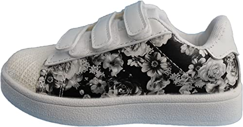 Rock and Joy Girls' Trainers White Size