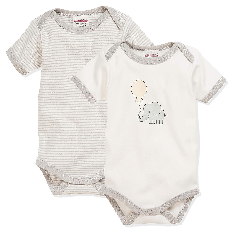 Schnizler Baby Langarm Body für Mädchen Gr.50//56 und 86//92 NEU