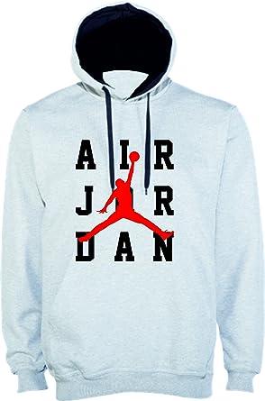 Sudadera Replica Logo Jordan Air Blanca (S)