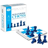 ThinkFun Brain Fitness Solitaire Chess - Fun Version of Chess You Can Play Alone, Toy of The Year Nominee