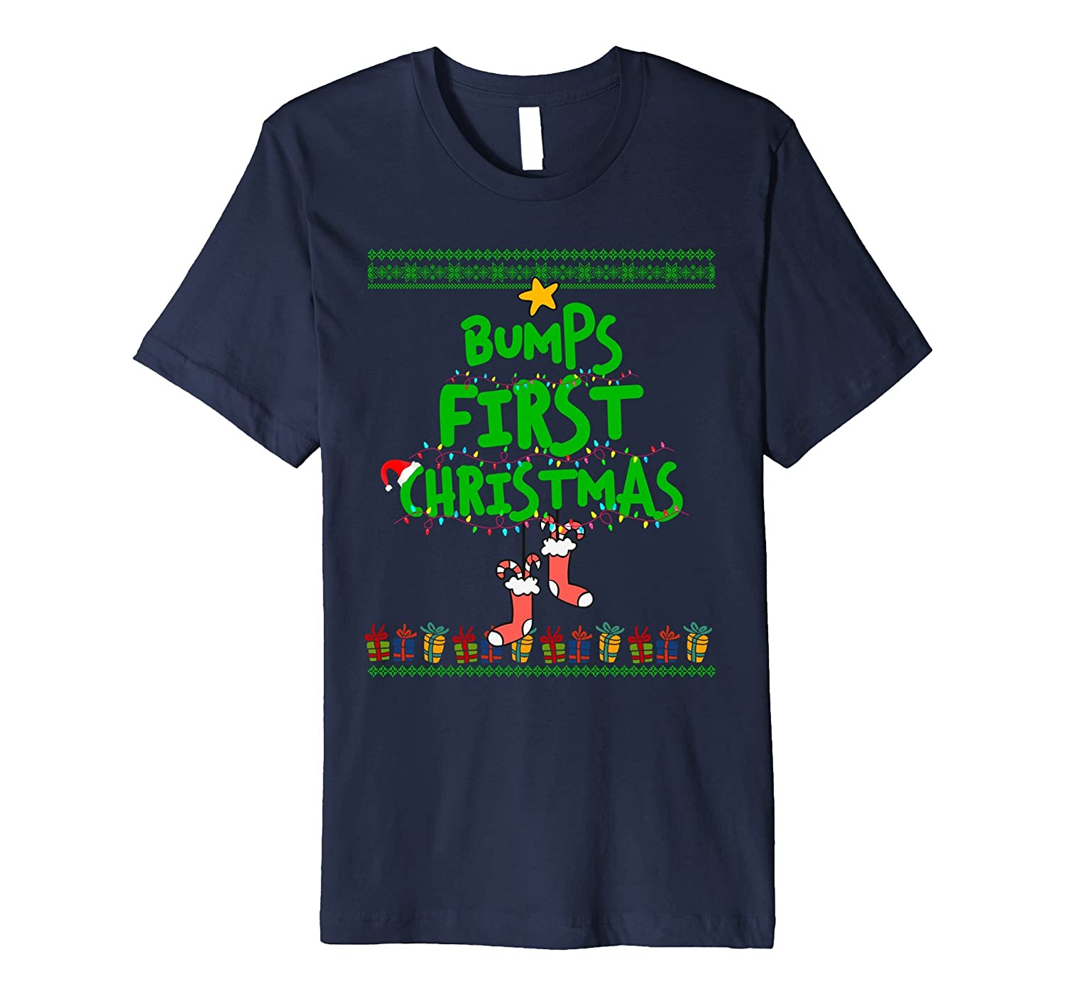 Ugly Sweater Cute Xmas bumps first christmas-FL