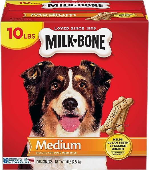 Amazon.com : Milk-Bone Original Dog Treats Biscuits for Medium Dogs, 10 Pounds : Pet Snack Treats : Pet Supplies