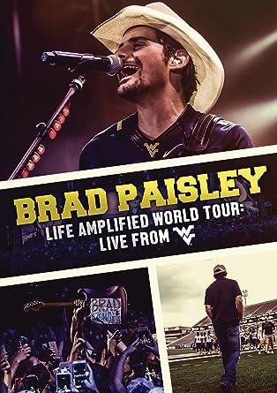 Amazon com: Life Amplified World Tour: Live From WVU [DVD]: Brad