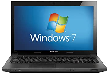Lenovo B570 15 6 inch Laptop (Core i3-2310M, RAM 4GB, HDD 500GB, DVDRW,  Windows 7 Home Premium 64-Bit) - Black