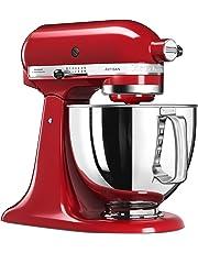 KitchenAid 5KSM125 EER Artisan 5KSM125EER-Robot de Cocina, tazón de 4.8 L, Color