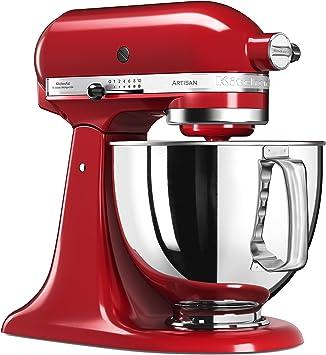 KitchenAid 5KSM125 EER Artisan 5KSM125EER-Robot de Cocina, tazón ...