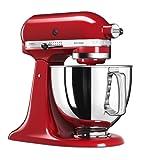 Kitchenaid 5KSM125EER Artisan Robot pâtissier Rouge Empire 4.8 L 300 W