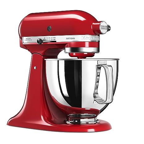 KitchenAid Artisan 5KSM125EER Robot da Cucina, Rosso Imperiale ...
